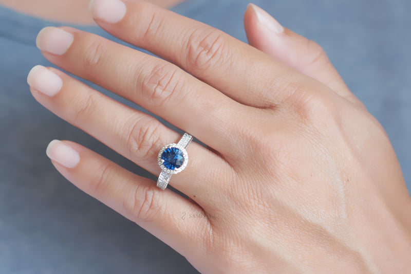 The Muriel Sapphire Ring (2.80 ct. tw.)