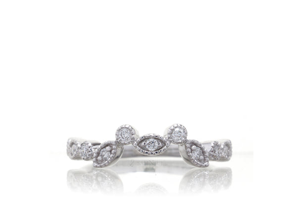 The Felicity Customized Diamond Band