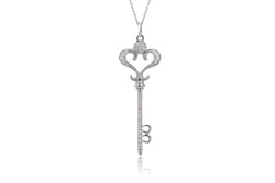 The Pavé Diamond Key Pendant (0.30ct. tw.)