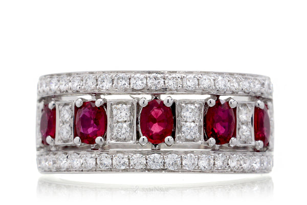 The Marjorie Ruby Ring