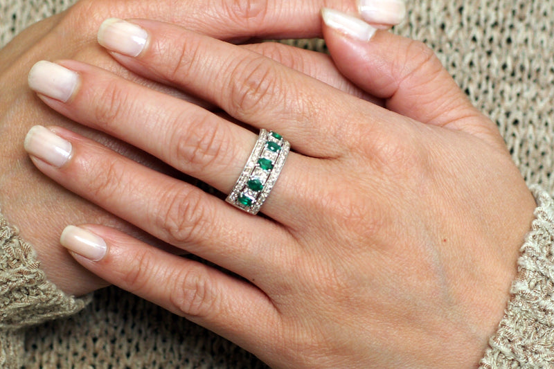 The Marjorie Emerald Ring