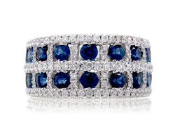The Claudette Sapphire Ring