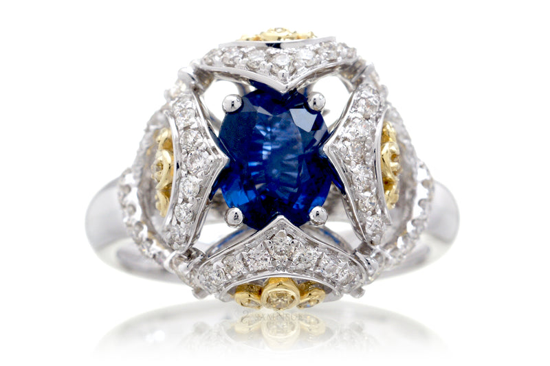 The Beatrice Sapphire Ring