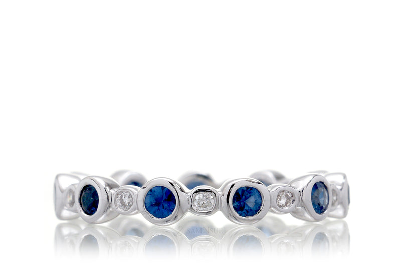The Lucinda Round Eternity Bands