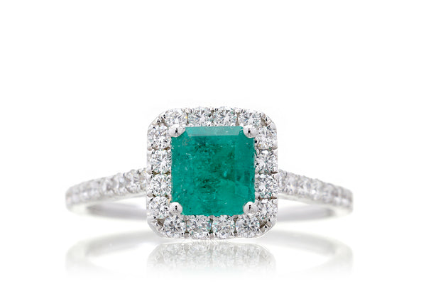 The Gwen Step Cut Emerald (1.36 ct. tw.)