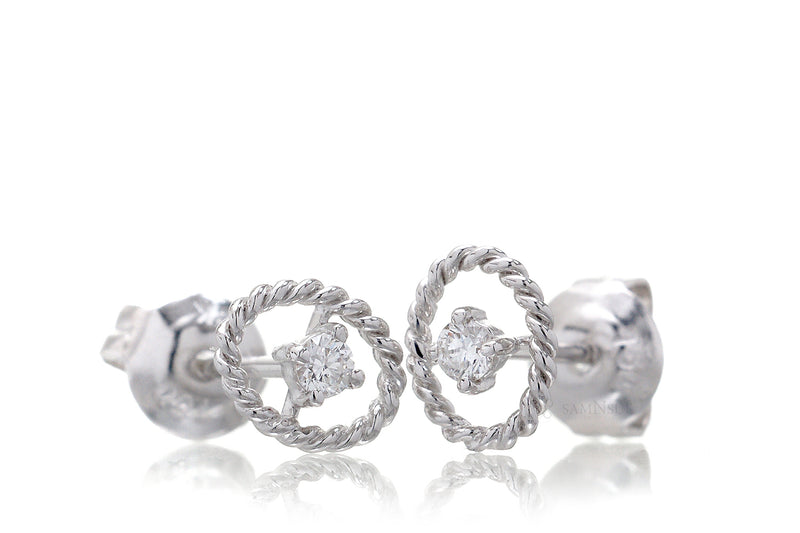 The Lacey Diamond Studs (0.07ct. tw.)