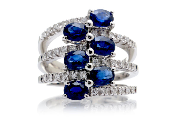 The Madison Oval Sapphire Ring
