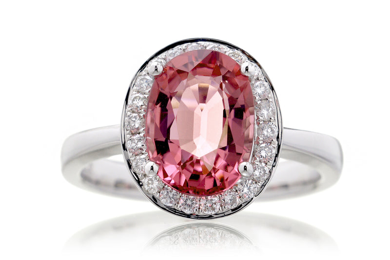 The Mona Oval Pink Tourmaline (2.54 ct. tw.)