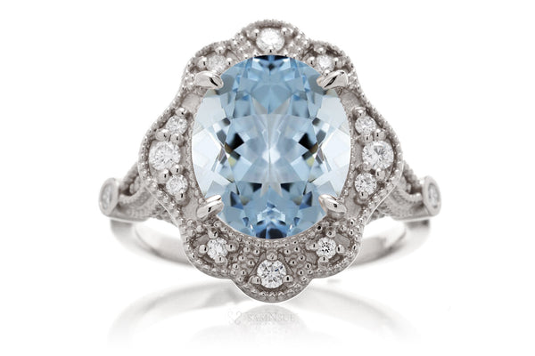 The Victoria Oval Aquamarine