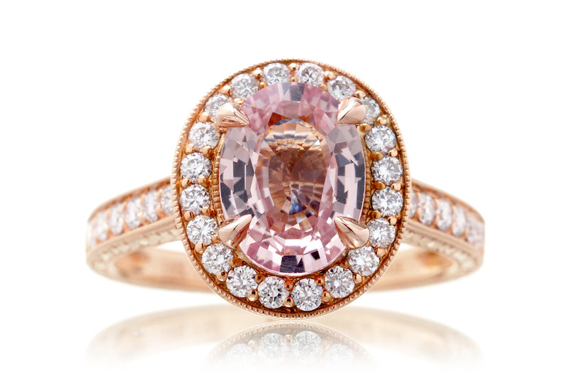 The Edith Oval Pink Sapphire (2.92 ct. tw.)