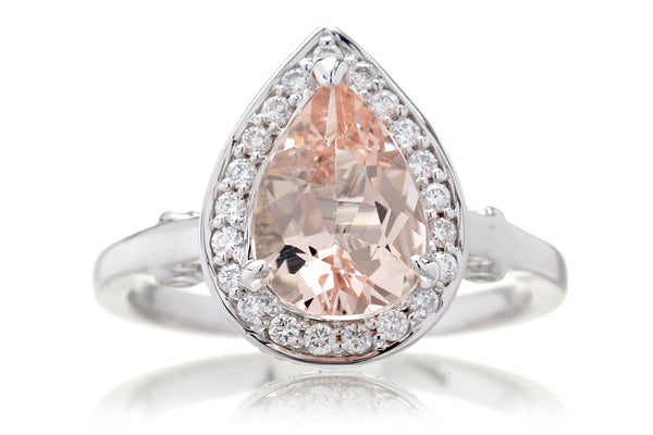 The Carla Pear Morganite