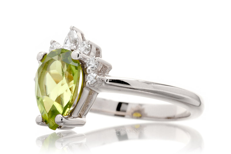 The Pacey Pear Peridot