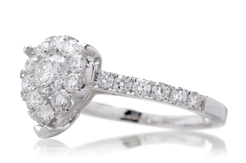The Maryanne Pear Diamond Ring (0.97 ct. tw.)