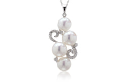 The Four Cluster Pearl Pendant
