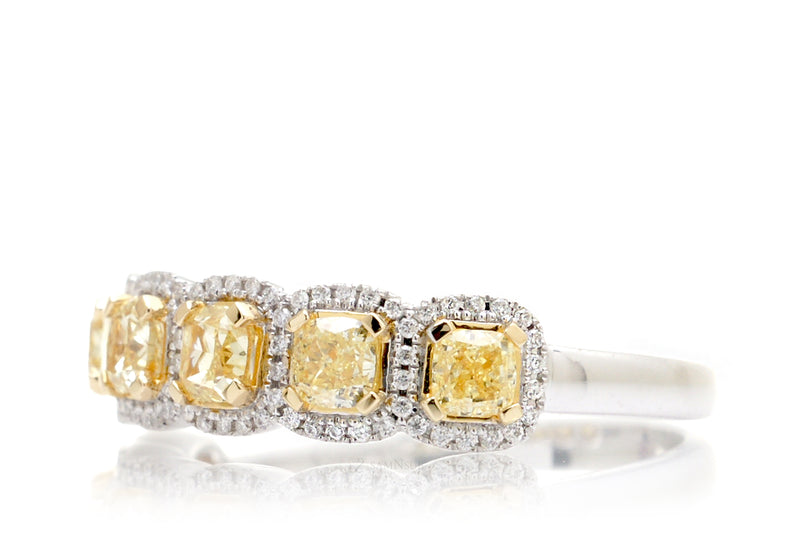 The Penelope Yellow Diamond Band