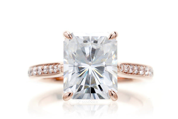 The Emily Radiant Moissanite