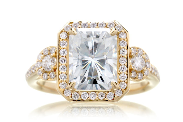 The Nancy Radiant Moissanite