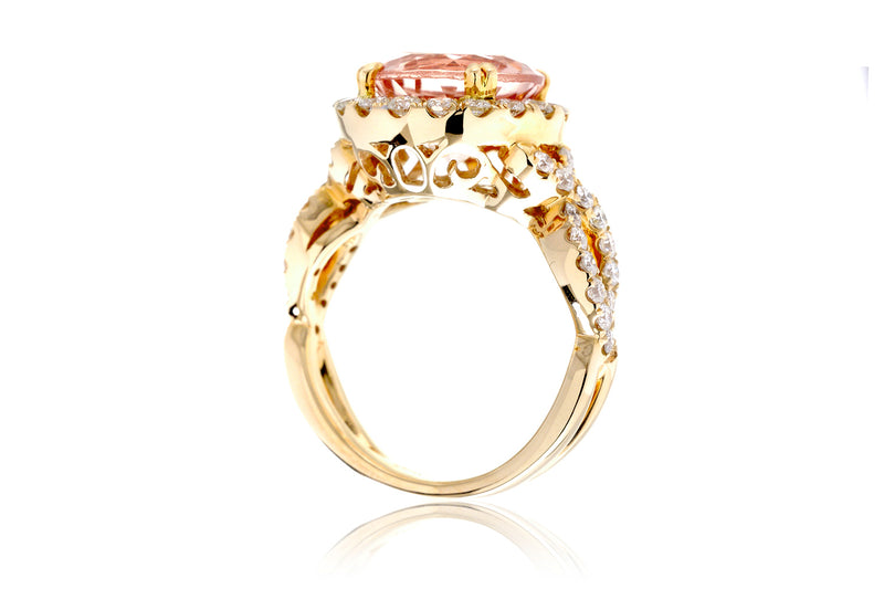 The Shelly Round Morganite