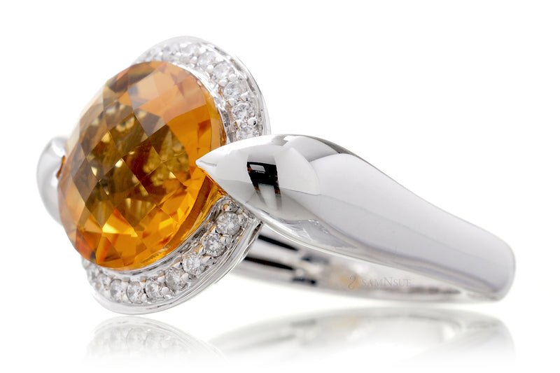 The Jennifer Round Citrine (12mm)