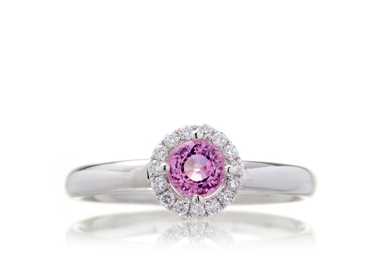 The Lanelle Round Pink Sapphire (4mm)