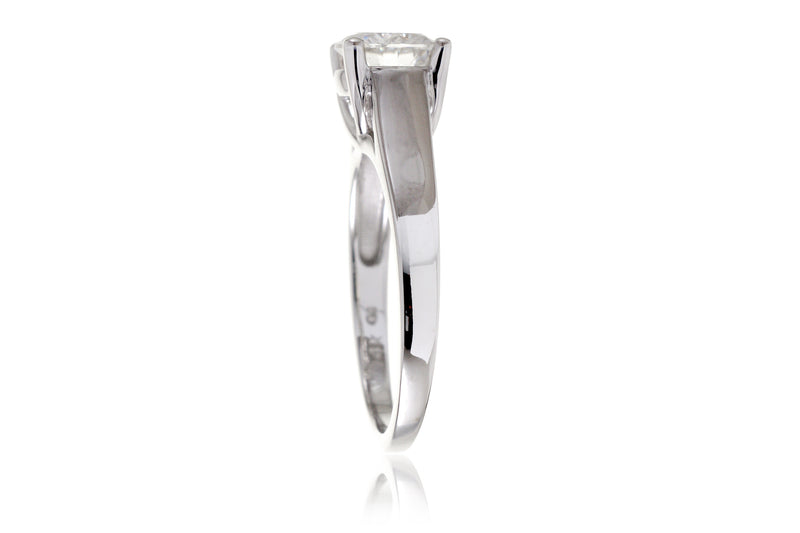 The Quinn Round Solitaire Ring