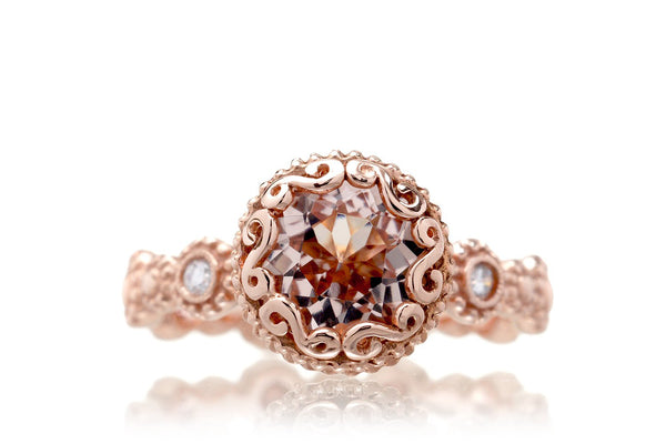The Nilda Round Morganite