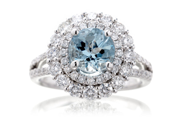 The Dorothy Round Aquamarine (7mm)