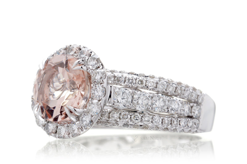 The Francine Round Morganite (8mm)