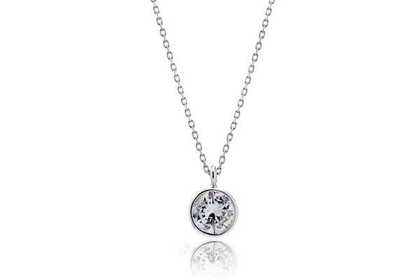 The Bezel Solitaire Diamond Pendant (3/4 ct*)