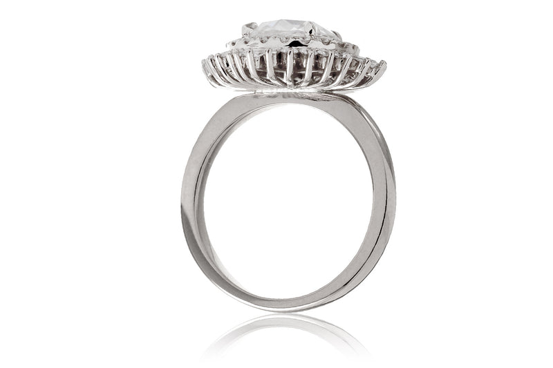 The Sonia Rose Cut Moissanite