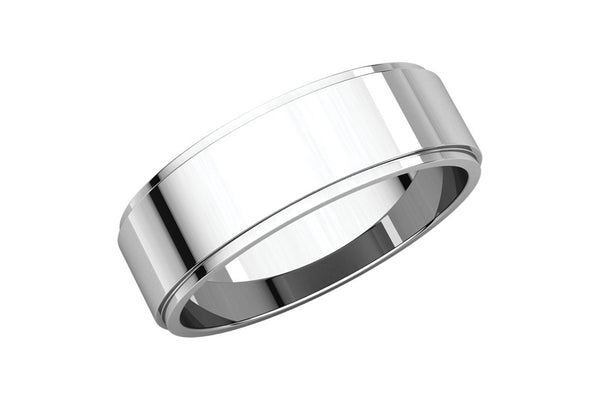 The Flat Edge 6mm Band