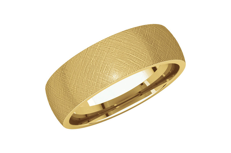 The Classic Dome 6mm Band