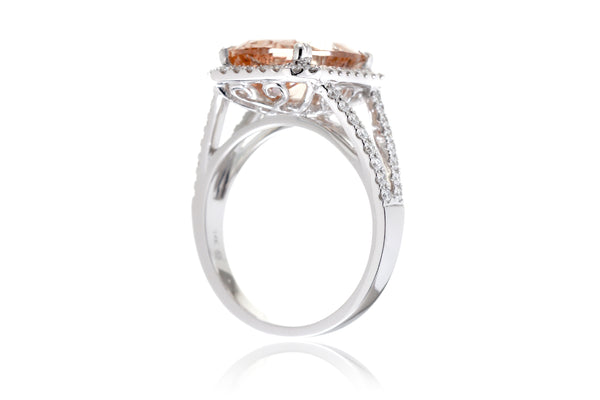 The Signature Split Band Cushion Morganite