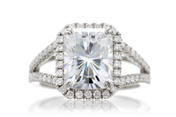 The Signature Split Band Radiant Moissanite