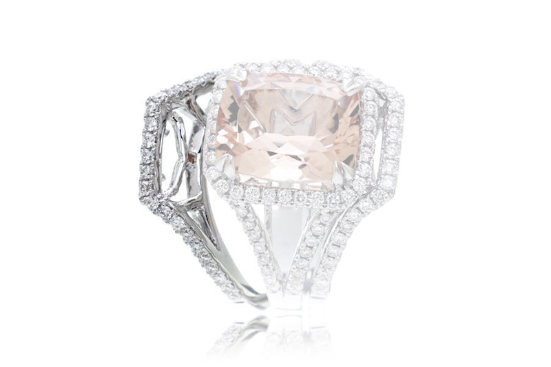 The Signature Split Diamond Band