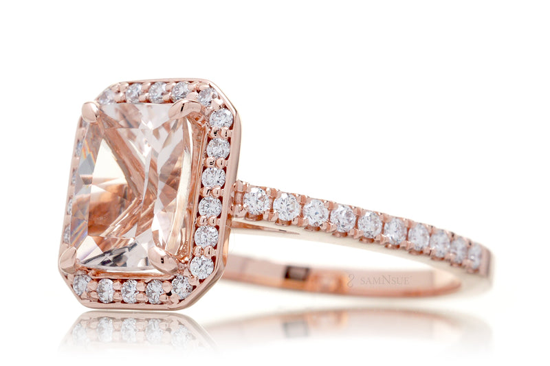 The Vera Cushion Morganite