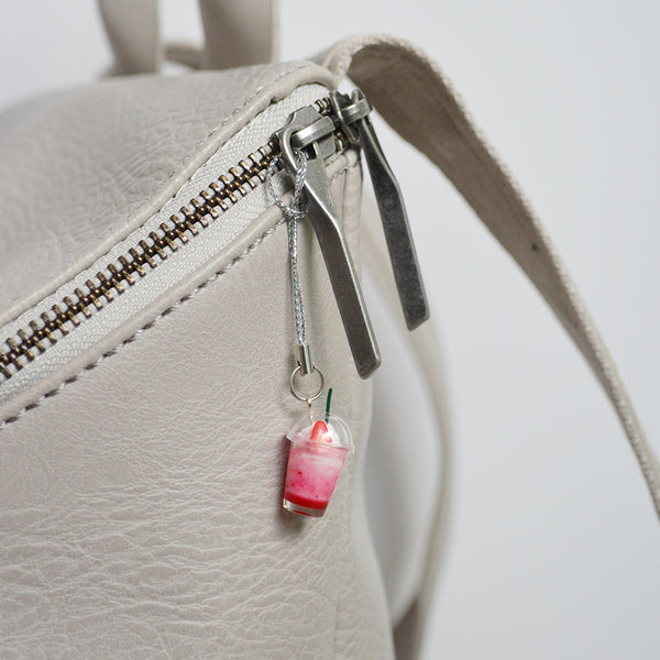 Jasmine Tea Milk Foam Keychain
