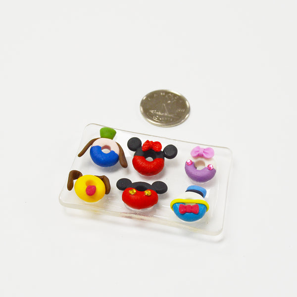 Mouse Character Donuts Set Workshop