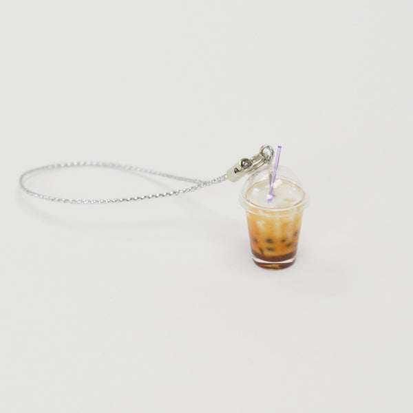 Brown Sugar Milk Tea Boba Bubble Tea Keychain