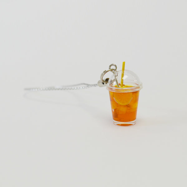 Iced Lemon Tea Keychain