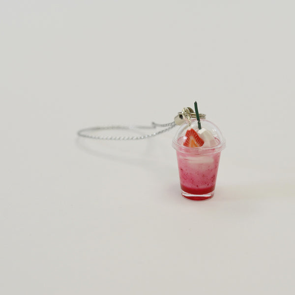 Strawberry Shake Keychain