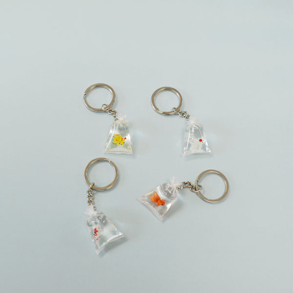 Koi Fish in Bag Keychain