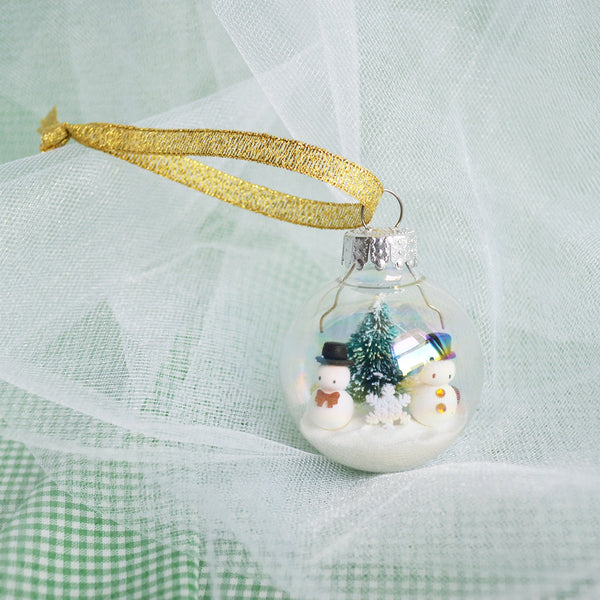 Made-to-Order Small Glass Ornament
