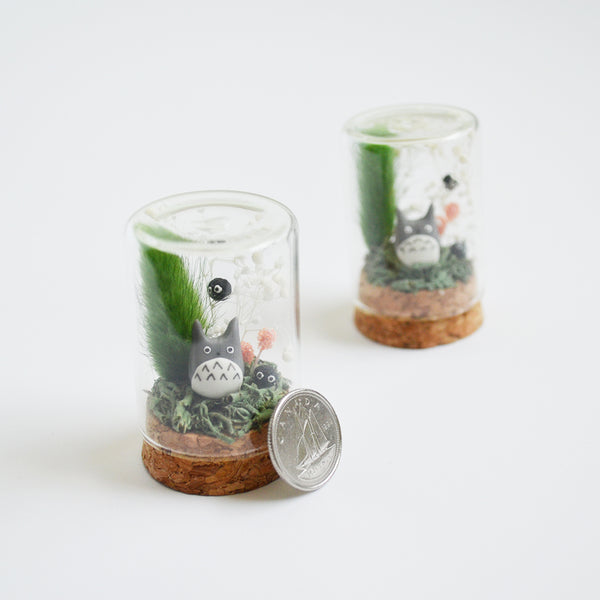 Big Totoro Terrarium Workshop