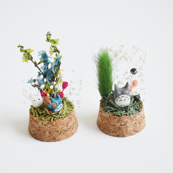Small Totoro Terrarium Workshop