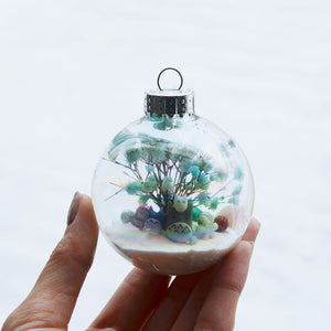 Large Totoro Glass Ornament #7