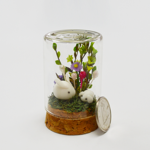 Miniature Rabbit Terrarium