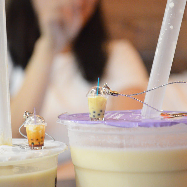 Original Bubble Milk Tea Keychain