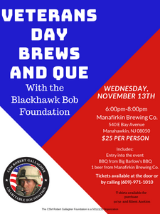 Brews and Que Event