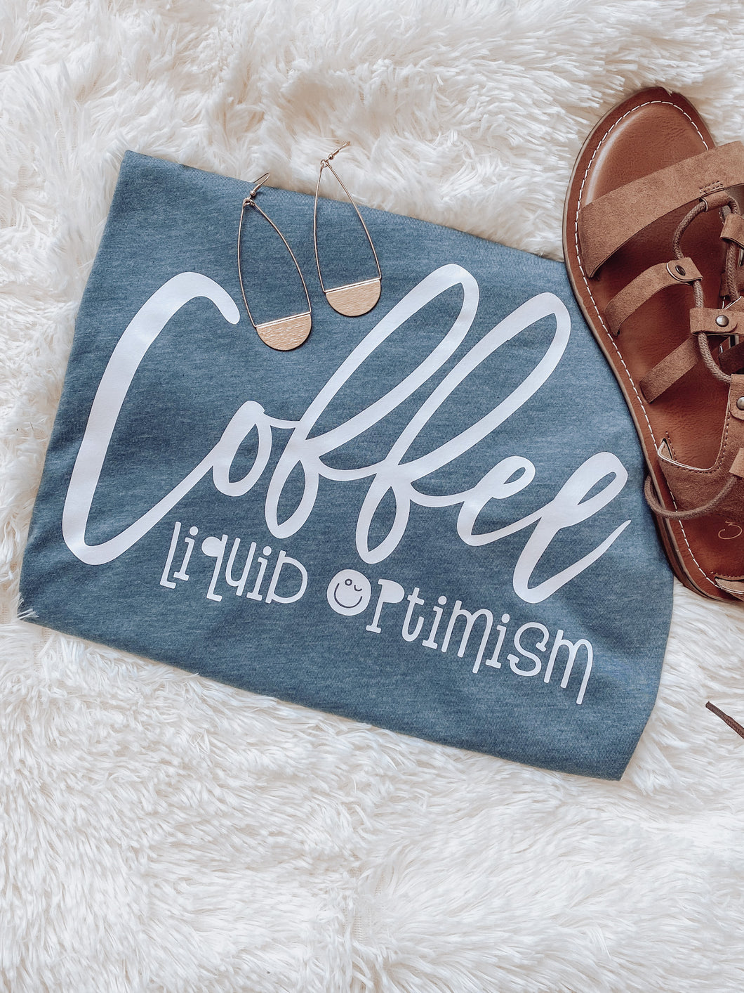 Coffee Liquid Optimism Tee